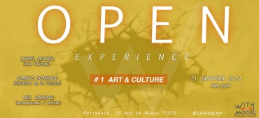 Open Experience #1 – Art et culture