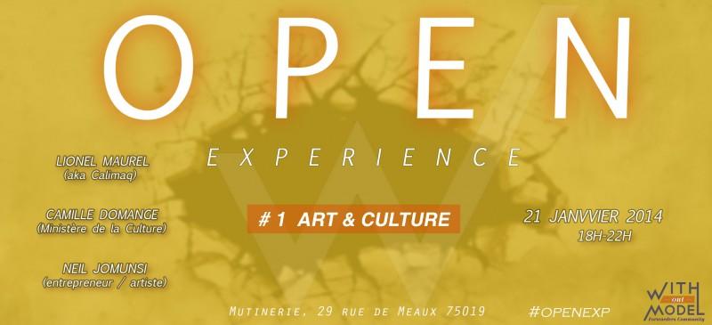 Open Experience #1 – Art et culture