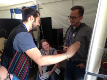 """The """"What if Lab"""" workshop at OuiShareFest 2015"""