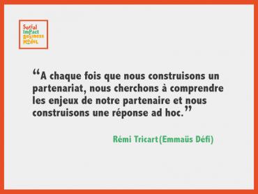Interview de Rémi Tricart (Emmaüs Défi) «Si on peut faire travailler 20 personnes de plus, on le fait car c'est notre mission»