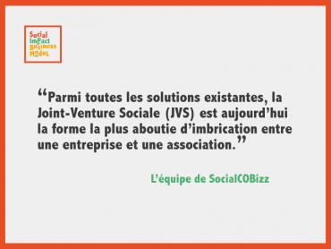 Les 3 caractéristiques des Joint-Venture Sociales