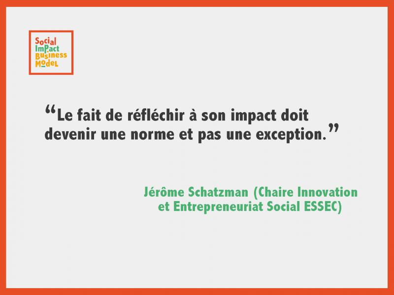 Jérôme Schatzman : Le fait de réfléchir à son impact doit devenir une norme et pas une exception.