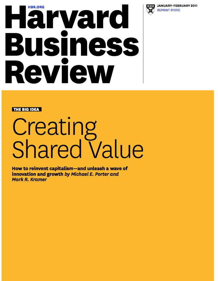 La valeur partagée : innover en sortant des territoires habituels
