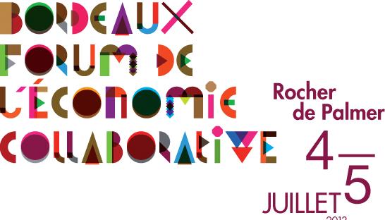 Table ronde sur la place de l'économie collaborative dans les entreprises de demain lors du Bordeaux Forum