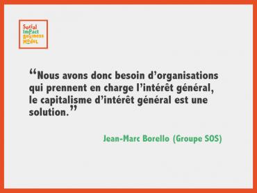 Jean-Marc Borello : «Utiliser les outils du capitalisme et leur donner une finalité d'intérêt général»